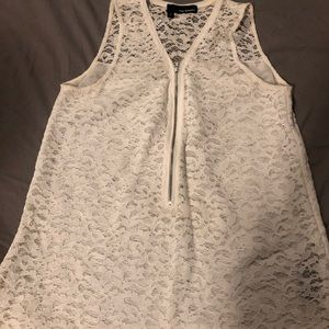 The Kooples floral lace sleeveless blouse